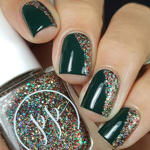 81 Christmas Nail Art Designs Ideas For 2020 Page 5 Of 8 Stayglam Nail Colors Winter Winter Nails Acrylic Christmas Nail Art Designs