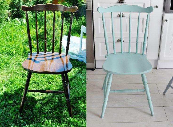 metamorforza krzesła, skandynawskie krzesła, miętowe krzesło, chair, mint,