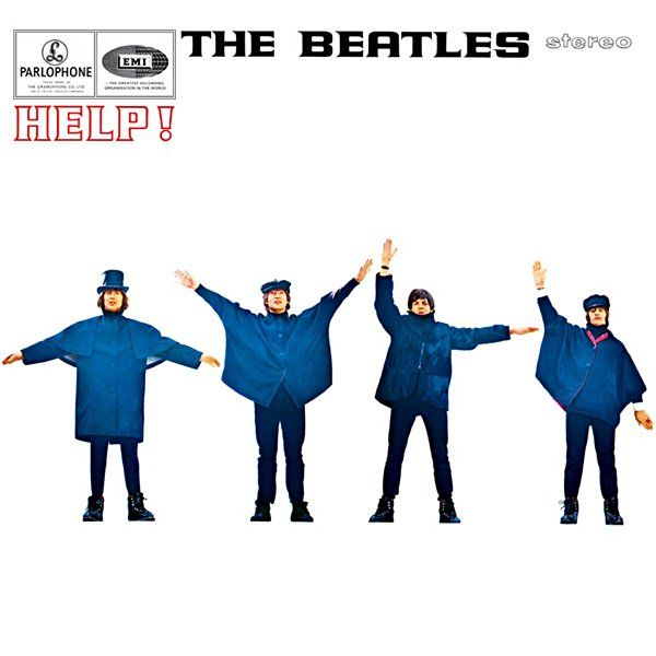 The Beatles - HELP! album cover