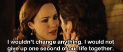 The Time Traveler's Wife quotes This is my favourite line in the movie it makes me tear up everytime