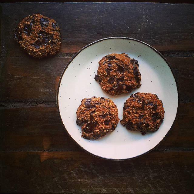 Pompoen havermout koekjes voor een tvloze avond Nu op mnhellip