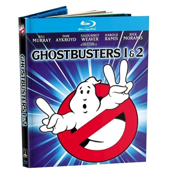 Ghostbusters 1 & 2 (Mastered in 4K) (Movie Reward) (Includes Digital Copy) (UltraViolet) (Blu-ray)