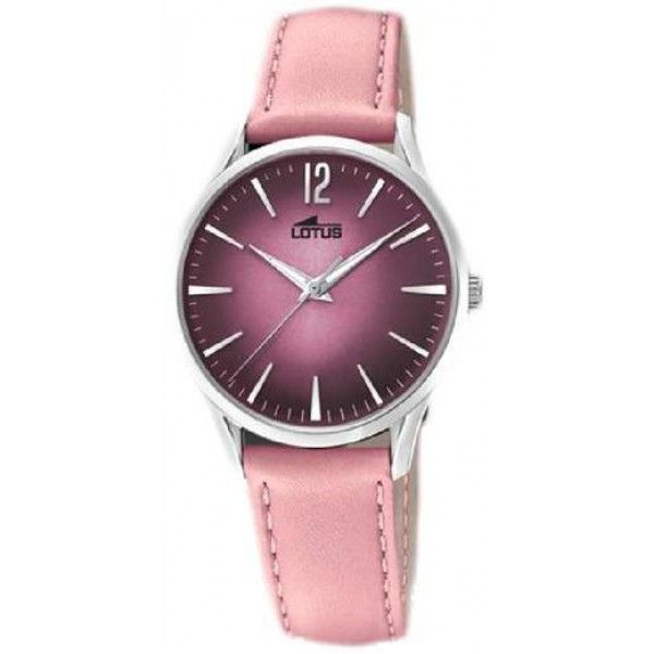 Beautiful collection of women #watches #designerwatches #tradetodayonline #Lotus  #20%OFF #18406-2 .Dont miss https://feeldiamonds.com/swiss-luxury-watches-for-men-women/lotus-watches-offers-online/lotus-18406-2-women's-classic-pink-leather-strap-purple-dial-watch's-classic-pink-leather-strap-purple-dial-watch