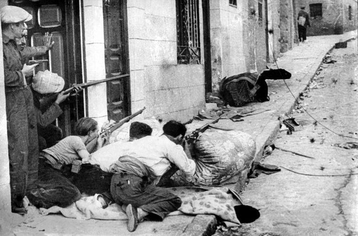 1936 Spanish civil war Catalonia