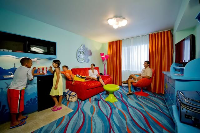 Visiting Disney World with a large family? These in-park resorts feature suites and villas that can sleep 5, 6, 7, or more people.