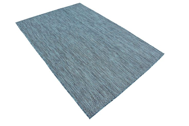 Teal 4' x 6' Outdoor Solid Rug | Area Rugs | eSaleRugs