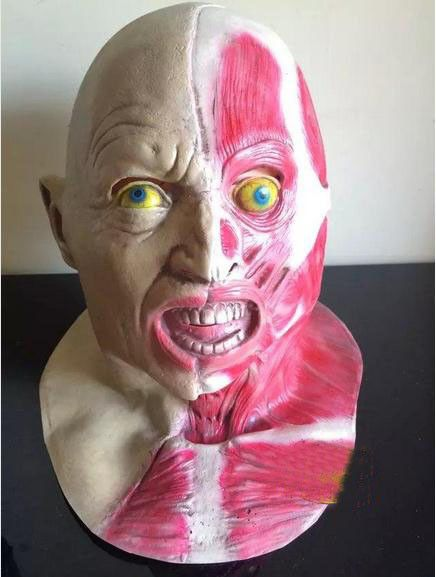 Hot Selling Realistic Full Head Carnival Mask Celebrations Party Adult Cap Zombie Mask Halloween Mask Cosplay Party Props