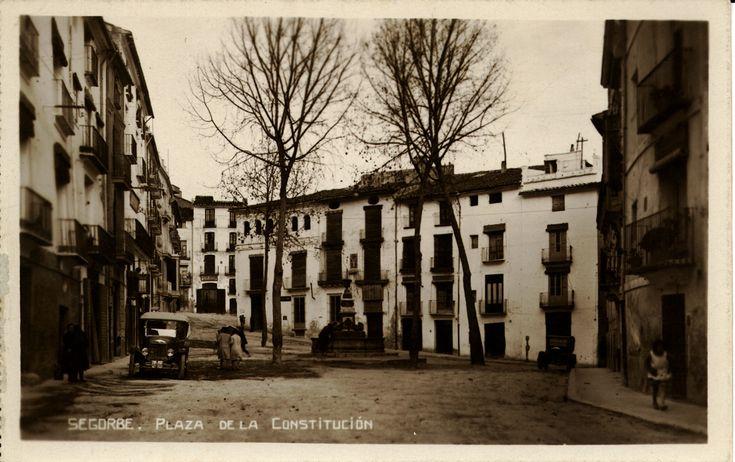 Plaza de la Constitución : Segorbe. (1937 a. de) - Anónimo