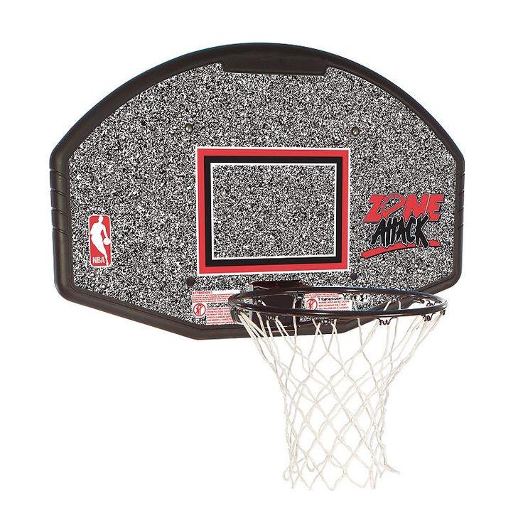 Spalding 44-Inch Eco Composite Basketball Backboard, Red