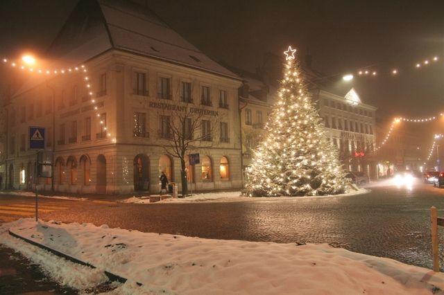 Noel à bulle suisse