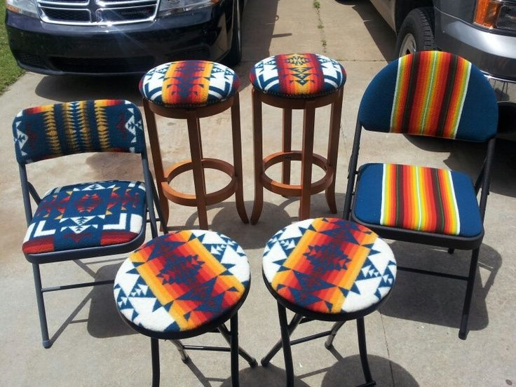 Superb Pendleton Stools And Folding Chairs