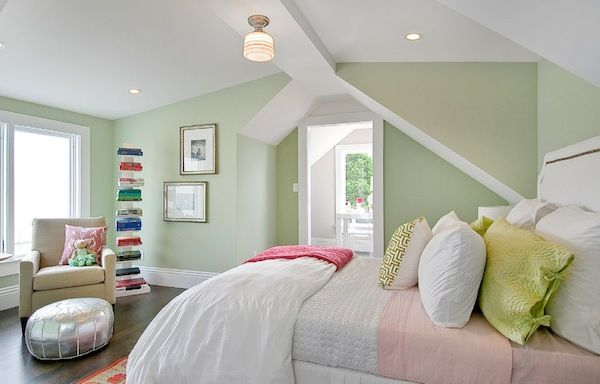 springtime color bedroom Bringing Spring Time Colors Into Your Winter Home