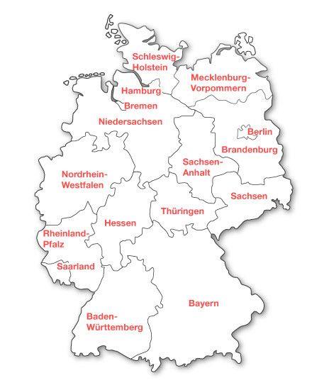 Die 25 Besten Ideen Zu Deutschland Karte Bundesl 228 Nder Auf Pinterest Karte Bundesl 228 Nder