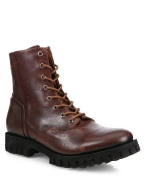 DIESEL D-Depp Leather Boots. #diesel #shoes #boots