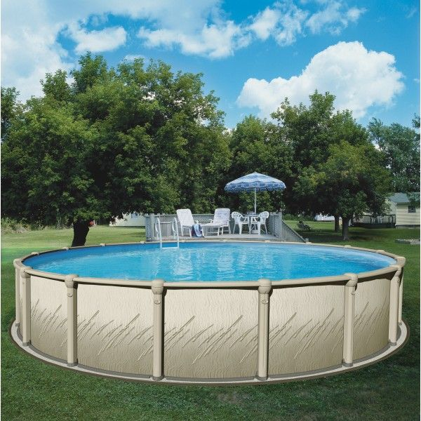 Above Ground Pool Canada - Enjoy the freedom to celebrate with your very own swimming pool! The Atrium above ground, steel, swimming pool will help you create the backyard of your dreams.