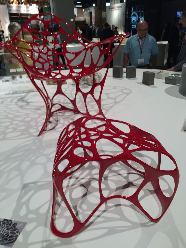 3D printing was also a huge feature at the show