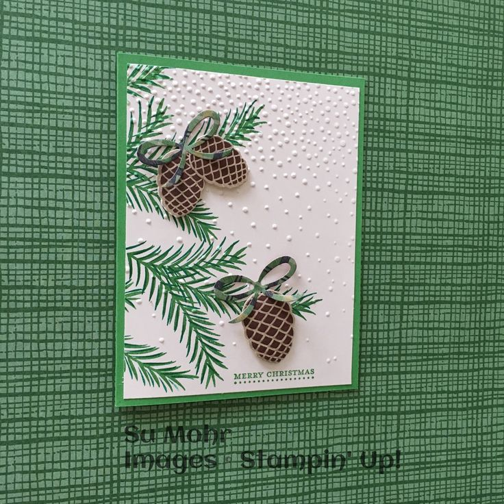 Christmas Card Making Ideas Stampin Up Part - 33: Stampinu0027 Up! Demonstrator Site And Online Store - SU - Christmas Pines,  Teeny