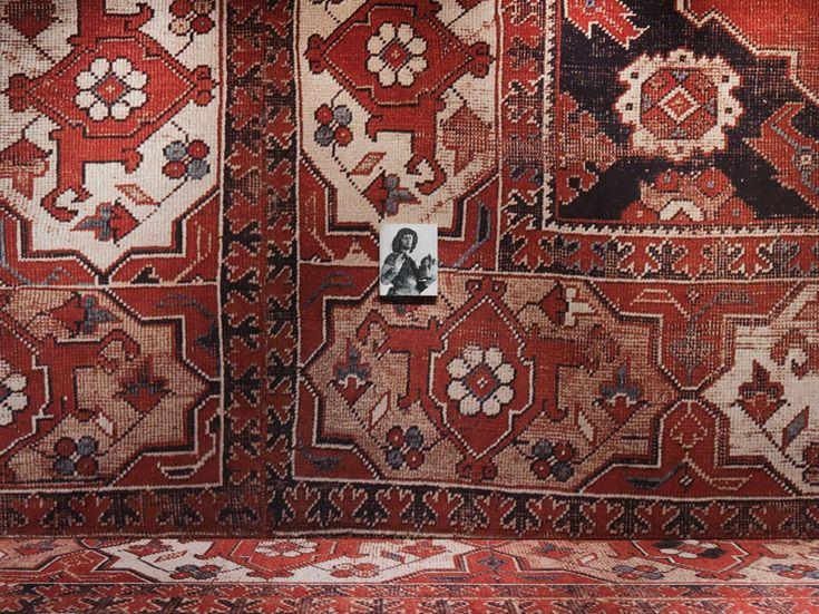 rudolf stingel covers palazzo grassi's interior in carpet, venice, italy - designboom | architecture & design magazine
