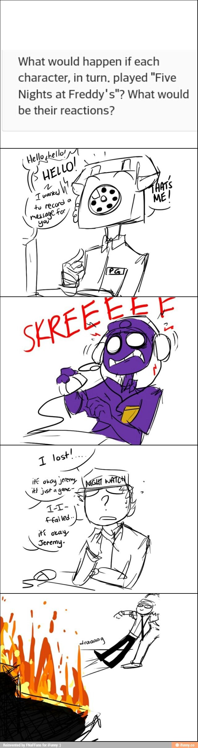 Five Nights at Freddy's Reaction