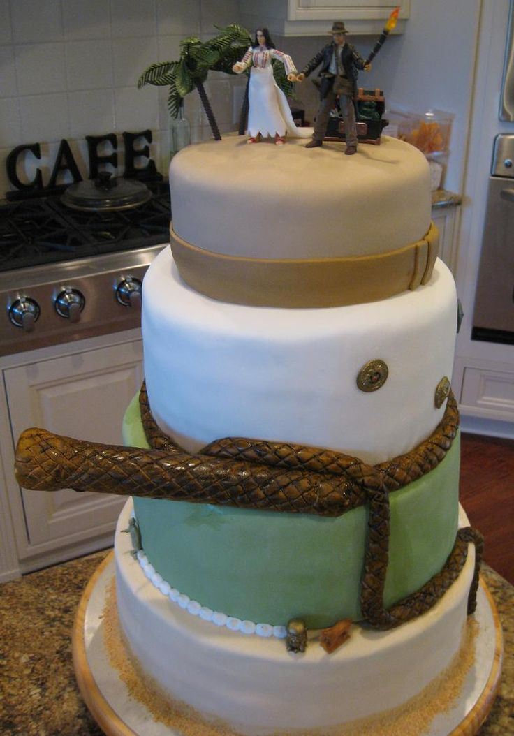 Awesome image Indiana Jones cake ideas for fer s someday plans 31