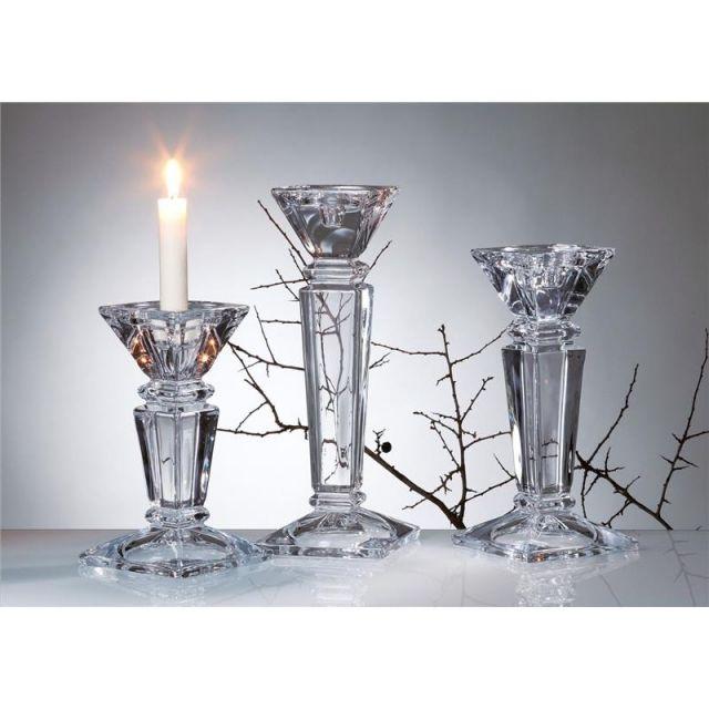 Szklany świecznik Empery marki Crystalite Bohemia
