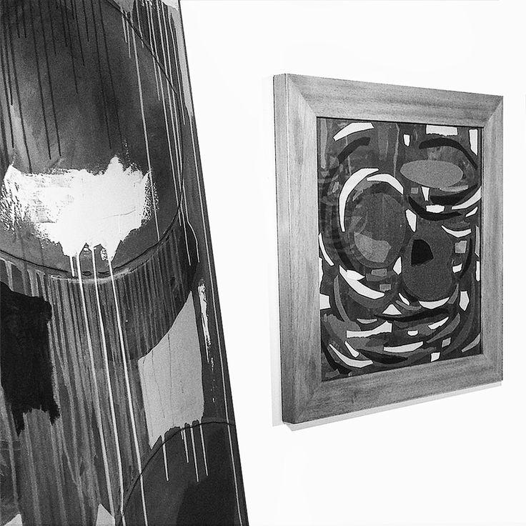 """""""NINFEE; I FIORI D'ACQUA"""", 17 - 31 agosto 2016, Spazio espositivo di Via della Cervia, Lucca #andreamattiello #waterflower #waterlilies #ninfea #collage #contemporaryart #lucca"""