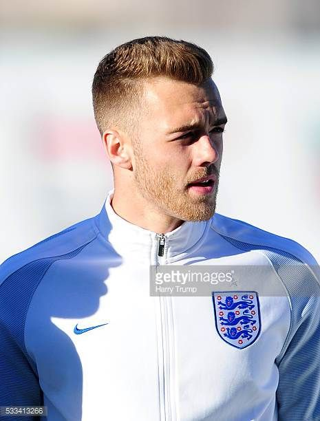 Calum Chambers of England during the Toulon Tournament match between England and Portugal at Stadium Leo Lagrange on May 19 2016 in Toulon France