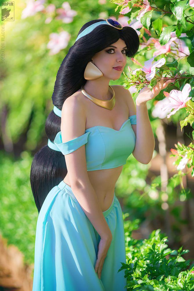 Princess Jasmine from Aladdin - Wild Flower by Rei-Doll.deviantart.com on @DeviantArt