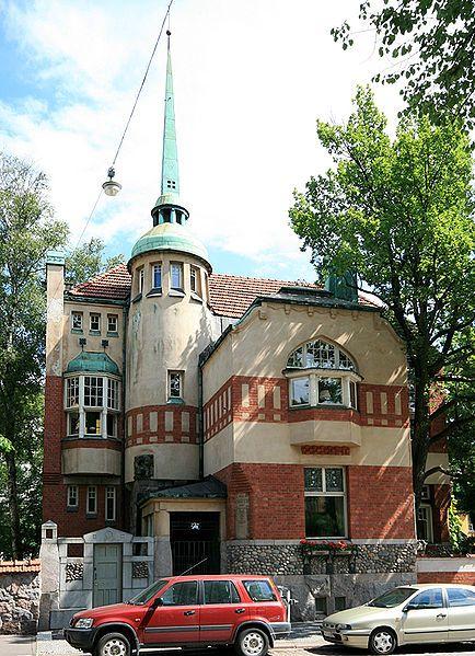 Villa Johanna  (Selim A.Lindqvist 1906), Laivurinkatu 23-25. Villa Johanna sijaitsee Eiran sairaalan vieressä. Kuva by Mahlum
