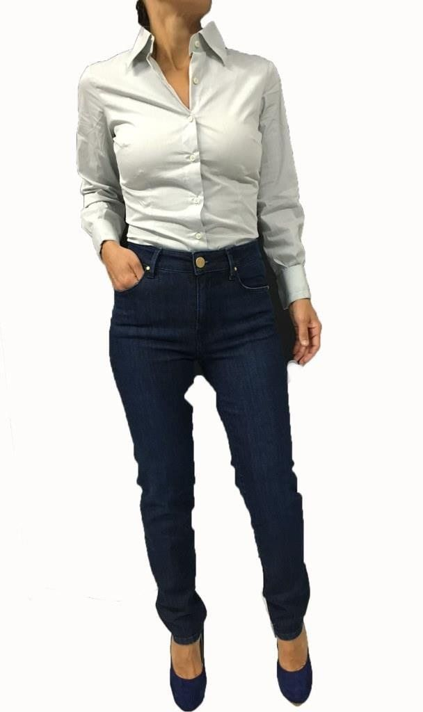 DON'T CRY jeans donna mod 1118B HIGH RISE SKINNY 92% cotone 6% pes 2% elastan…