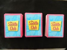 "Collection of 177 ""The Saddle Club"" 1st Edition Cards 2003."