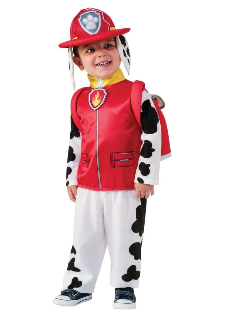 Paw Patrol Marshall Toddler Boys Costume