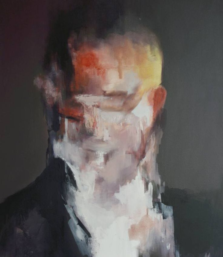 """""""Anger,"""" abstract portrait by artist Jesùs Leguizamo available at Saatchi Art: http://www.saatchiart.com/art-collection/Painting-Photography-Sculpture/New-This-Week-4-27-2015/153961/102058/view #portrait"""