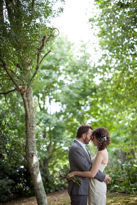 This great venue has so many beautiful little spots for photos!
