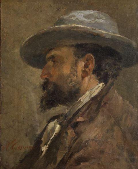 N. Giannone, Ritratto di Michele Catti (olio su tela, 49x38 cm, GAM Palermo)