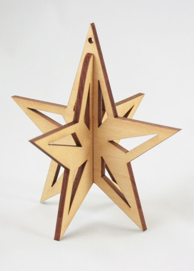 17 best images about hout on pinterest wooden walls van for 3d star decoration