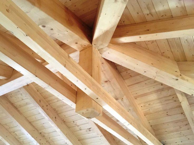17 mejores ideas sobre estructuras de madera en pinterest - Cubiertas de madera ...