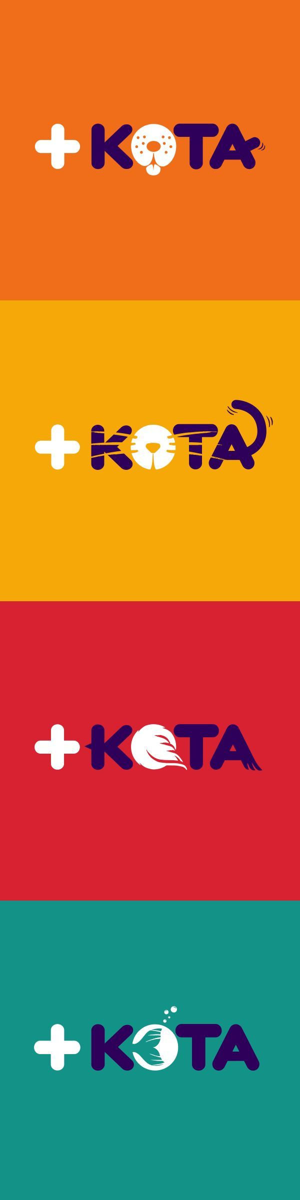+Kota (reads maskota) is the spanish word for Pet. This is the most important store chain of animals and accessories in Mexico. This is a highly recognized and memorized brand logo without an advertising budget. Typography has details that precisely communicate the personality of dogs, cats, birds and fish. One of our more visible and successful projects.