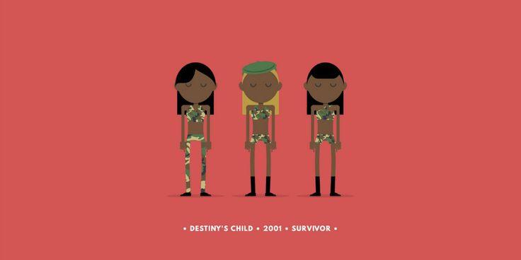 Destiny's Child Survivor Art