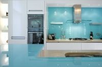 Coloured Splashbacks | Glass Worktops :: Intaglio Architectural Glass