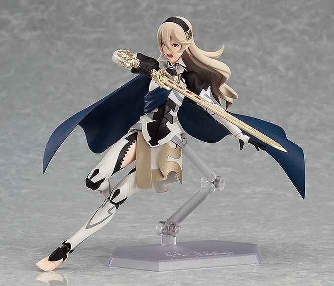 『FE if』の主人公「カムイ(女)」がフィギュア化!ねんどろいど&figmaで登場 <<<omg I thought that clear stand was her other leg
