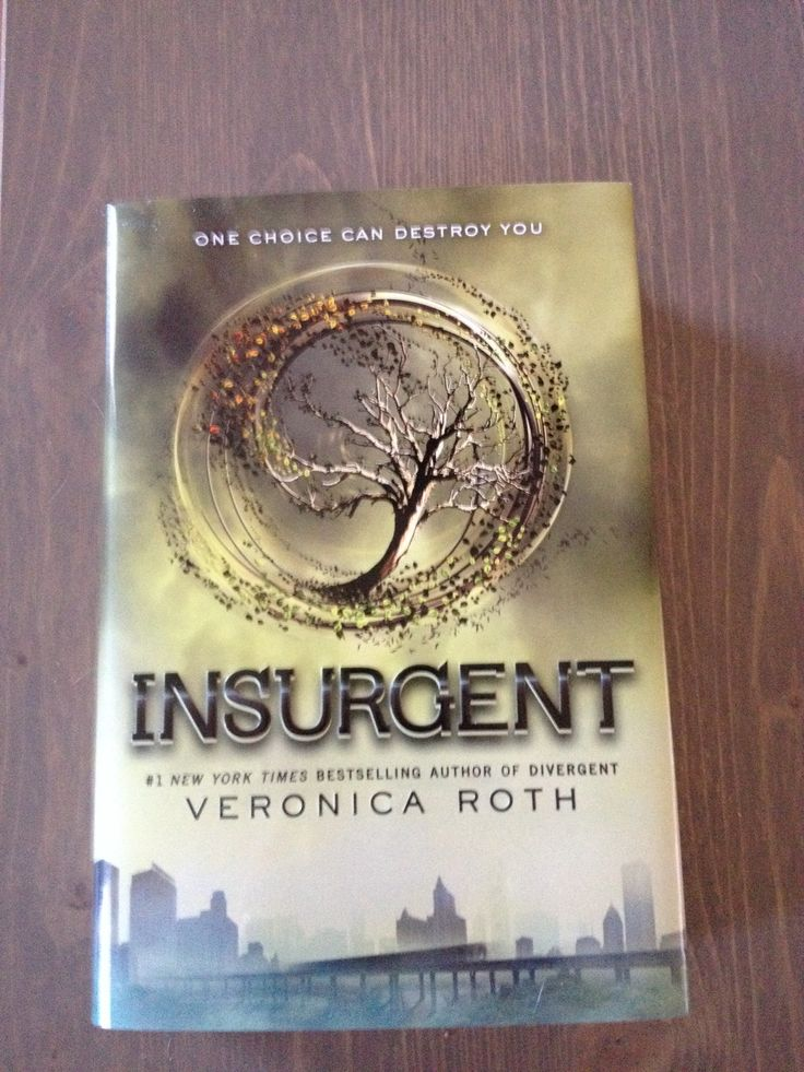 Insurgent - The second book in the Divergent trilogy. Thought this even better than the second book! #VeronicaRoth