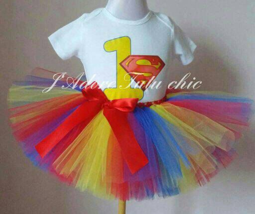 Check out this item in my Etsy shop https://www.etsy.com/ca/listing/257119968/superman-birthday-outfit-superman-tutu