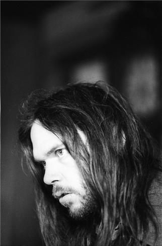 Neil Young - looks like he was a hottie at one time...and still is!