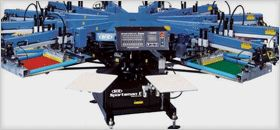Just incase you didnt realise-heres another of our screen printing machine pics :P  colourworksnz for all your printing