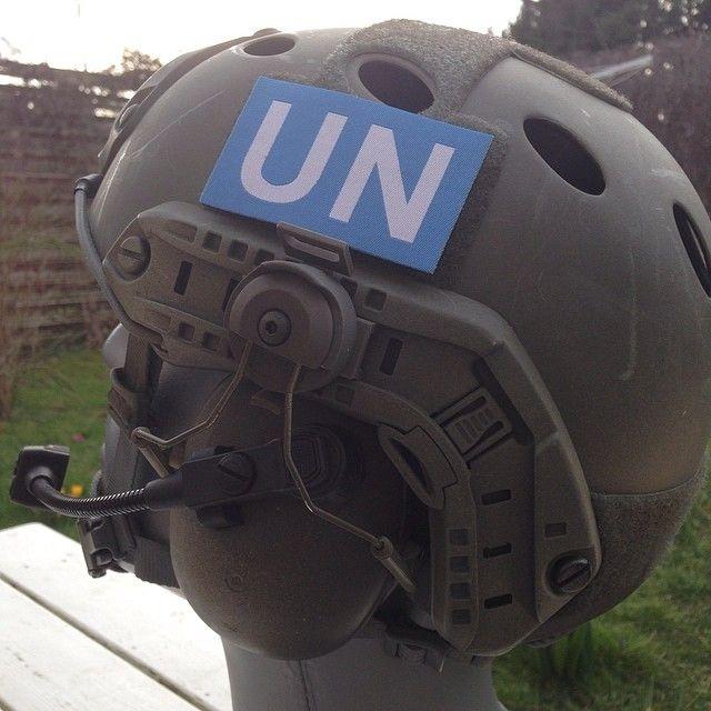 Large UN velcro patch!  Available at http://webshop.tacupgear.com