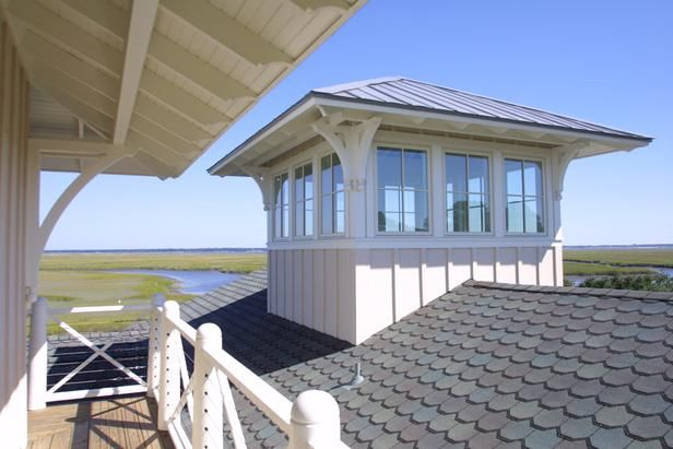 HGTV Dream home 2004 - St. Mary's GA.....toured this home and what a beauty! veiw from the tower room.