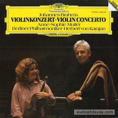 Brahms / Anne-Sophie Mutter Violin Concerto 33T