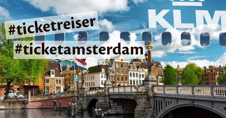 Vinn to flybilletter tur/retur Amsterdam med KLM! Les mer og delta her: http://www.ticket.no/blogg/konkurranse-amsterdam/