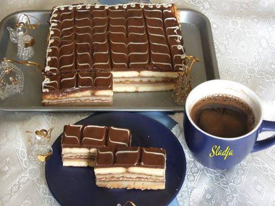 BRZA KEKS TORTA…DOK SKUHATE KAFU I ONA JE GOTOVA   Torte i kolacici